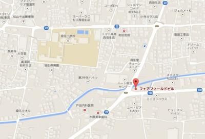 【地図】フェアフィールド
