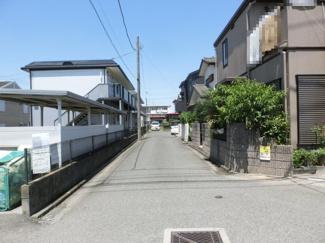 【前面道路含む現地写真】鴻巣市宮前の売地【NO.10364】