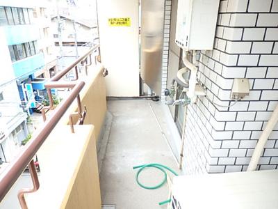 【バルコニー】丸栄マンション幸町