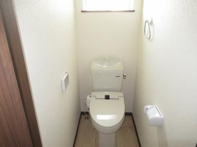 【トイレ】清水5丁目・未入居中古住宅 月々40,569円~