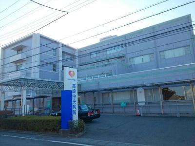 高崎中央病院まで1000m