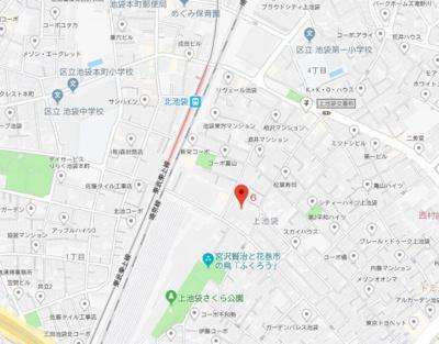 【地図】パティーナ池袋
