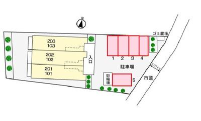 【駐車場】フロ-ラルコ-トA