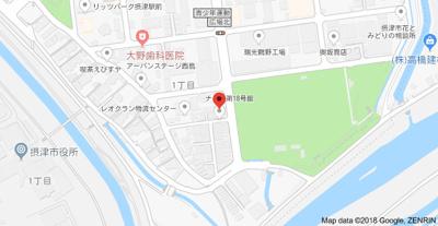 【地図】ナンノ第18号館