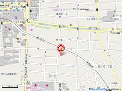 【地図】メゾン春日