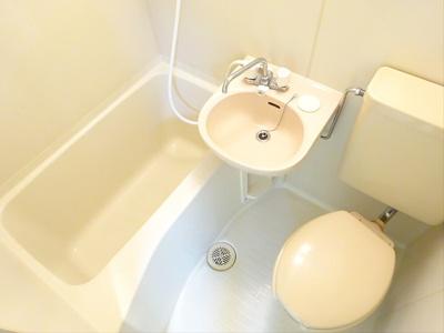 【浴室】キューブ浜田山
