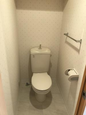 温水洗浄便座設備