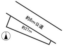 54953 岐阜市加野土地の画像