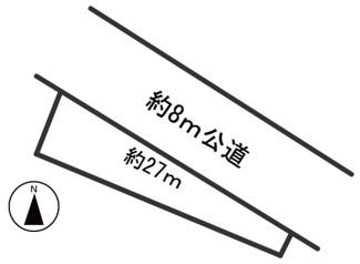 【区画図】54953 岐阜市加野土地