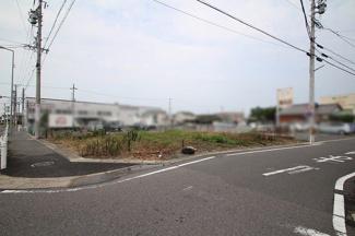 【前面道路含む現地写真】小牧南土地区画整理地124街区 売地