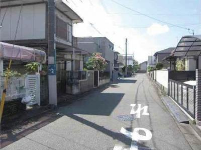 【前面道路含む現地写真】堺市北区新金岡町 売地‼