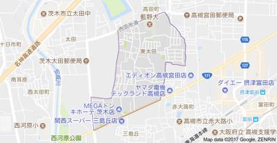 【地図】カモミール・ブラン