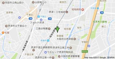 【地図】光栄ハイツ香露園