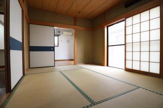 和室スペース有。 畳がある物件も少なくなってきつつあります。希少価値が上がるかもしれません。