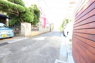 【前面道路含む現地写真】中央区生実町 中古戸建 学園前駅