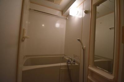 広めのお風呂です。