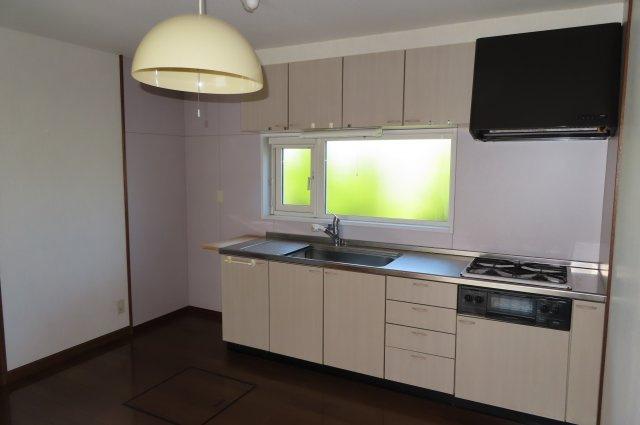 広々としたキッチンスペースです。