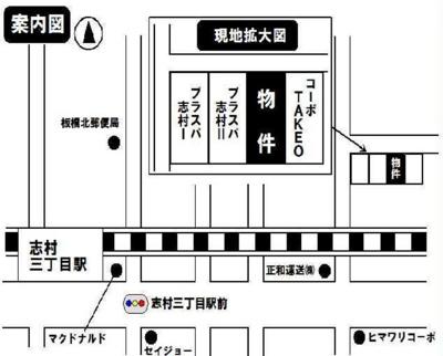 ライフピアデュークの地図☆