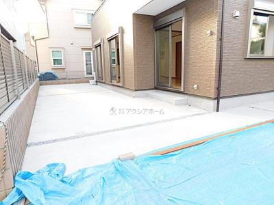 【庭】所沢市若狭4丁目・全1棟 新築一戸建 ~生活環境充実~
