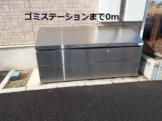 ゴミステーションまで0m
