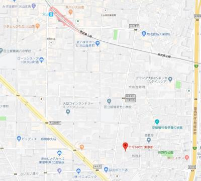 【地図】ZOOM板橋大山