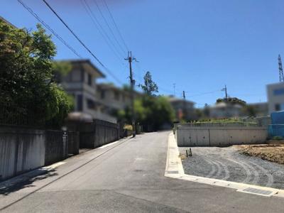 【前面道路含む現地写真】大津市清風町 新築分譲地