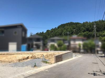 【前面道路含む現地写真】大津市清風町34-10 新築分譲地