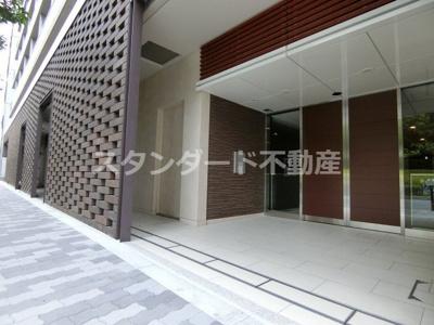 【エントランス】 ザ・パークハビオ天満橋