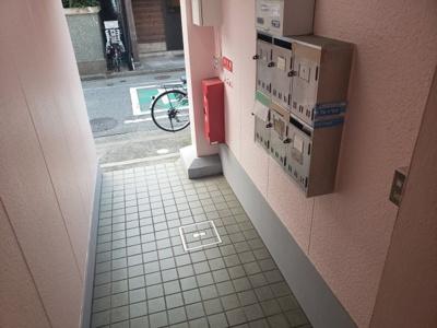 エントランス☆神戸市垂水区 サン中野日向☆