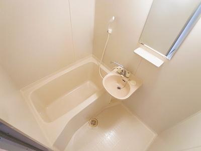 【浴室】スマ扇コーポ