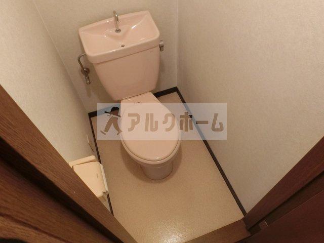 シャルムコート(柏原市清州) トイレ