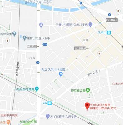 【地図】コーポ木村