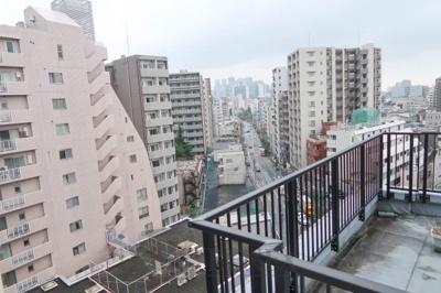ヴェルト新宿夏目坂の眺望です