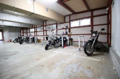 【その他】モトピット バイク駐車場
