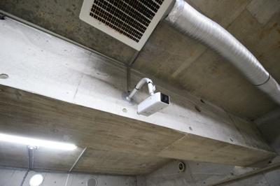 【セキュリティ】モトピット バイク駐車場