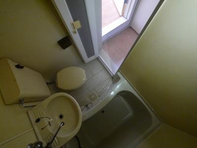 【浴室】レオパレス法蓮町
