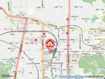 【地図】ブリーゼ