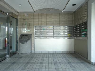 【ロビー】西福岡マリナタウンイーストコート8号棟