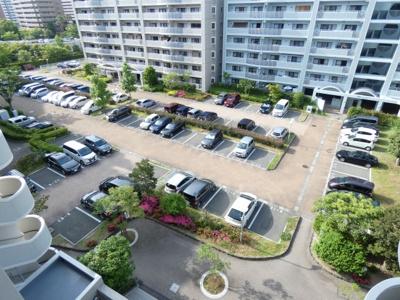 【駐車場】西福岡マリナタウンイーストコート8号棟