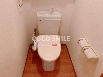 トイレもきれいです 【COCO SMILE ココスマイル】