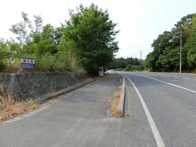 【前面道路含む現地写真】米子市榎原 売土地