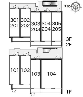 【区画図】ヴィアロ東四つ木レジデンス