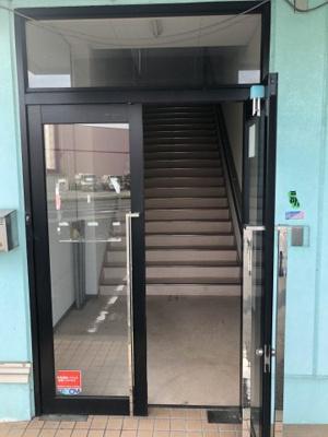 【玄関】柏原商業用テナント