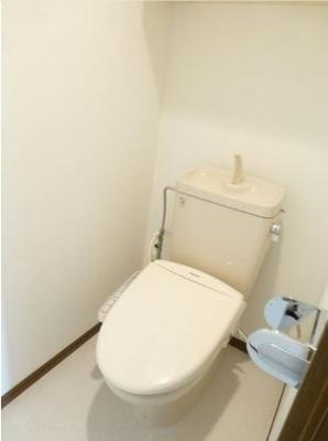 【トイレ】カルチェ恵比寿