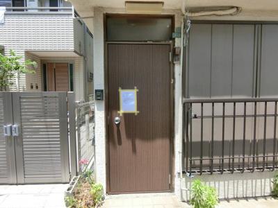 【エントランス】町屋5丁目貸家