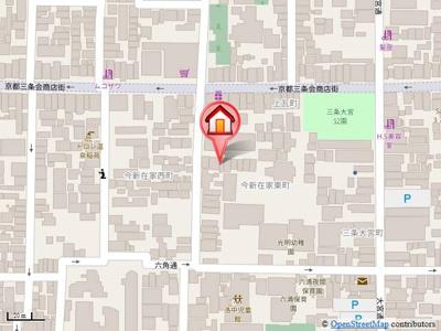 【地図】今新在家東町貸家(黒田様)