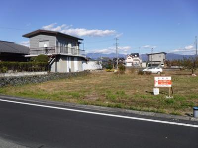 【外観】飯野新田123坪売地