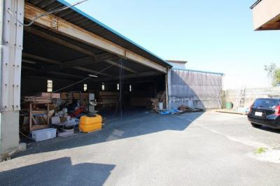 【外観】筑後市長浜倉庫付事務所