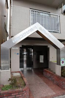 【エントランス】朝日プラザ湊川公園パサージュ
