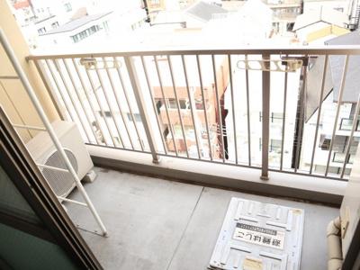 【バルコニー】サンステージ神戸大倉山